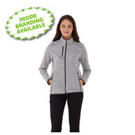Quick Ship LADIES' Retail-Inspired Sweater Knit Full-Zip Jacket