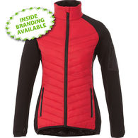Quick Ship LADIES' Hybrid Water Repellent, Insulated Jacket