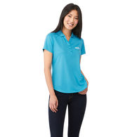 *NEW* Quick Ship LADIES' Wicking Polo is Snag Resistant with UV Protection BETTER