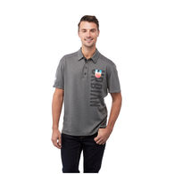 Quick Ship MEN'S Wicking Polo has Cooling Fabric and is Snag Resistant with UV Protection - BEST