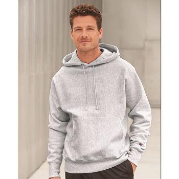 Champion® Adult Reverse Weave Hooded Sweatshirt