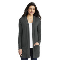 *NEW* Port Authority® Ladies Concept Long Pocket Cardigan