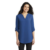 *NEW* Port Authority® Ladies 3/4-Sleeve Tunic Blouse