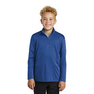 *NEW* Youth 100% Polyester Lightweight Pullover Sweatshirt with Collar - BUDGET