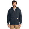 Carhartt® Rain Defender® Paxton Heavyweight Hooded Zip-Front Sweatshirt