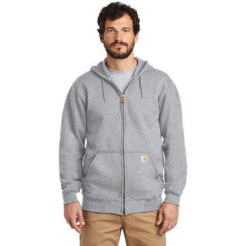 Carhartt® Midweight Hooded Zip-Front Sweatshirt