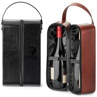 Dual Wine Bottle Carry Case