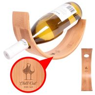 Bamboo Wine Bottle Holder
