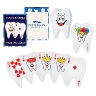 *NEW* Tooth Shape Playing Cards