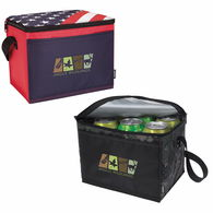 *NEW* 6-Pack Cooler with Patriotic or Camo Pattern