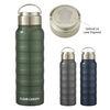*NEW* 25 oz Stainless Steel Ridged Vacuum Bottle with Non-Slip Bottom