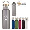 *NEW* 21 oz Stainless Steel Vacuum Bottle with Wood Lid