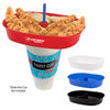 *NEW* 30 oz Oval Grub Tub® Snack Container Fits On Most 16-40 Oz Souvenir Cups, Cans And Bottles