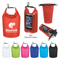 2.5 Liter Waterproof Dry Bag with Phone-Accessible & Usable Window