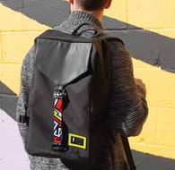 Backpack with Custom Full Color Straps Holds 15