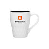 *NEW* 13 oz Stoneware Mug with Matte White Finish and Glossy Color Interior