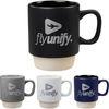*NEW* 14 oz Stackable Nesting Ceramic Coffee Mug