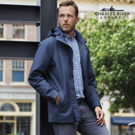"*NEW* Charles River® Men's Rain Jacket - Voted one of Oprah's ""Favorite Things""!"