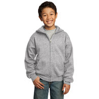 Youth Full-Zip Hooded Fleece Sweatshirt - BUDGET