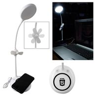 *NEW* Wireless Charger with Fan and Desk Lamp