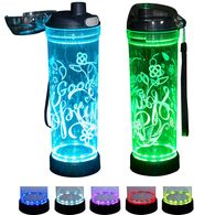 *NEW* Light Up the Night with This LED Water Bottle