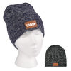*NEW* Cable Knit Beanie with Leatherette Patch