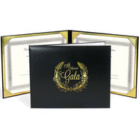 Double-Sided Padded Certificate Folder for 8