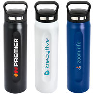 *NEW* 20 oz Vacuum Bottle with Grip Handle and Tall Vertical Imprint Area