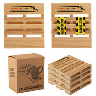 *NEW* Pallet Coaster 4-Pack