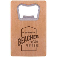 *NEW* Wood Credit Card Size Bottle Opener