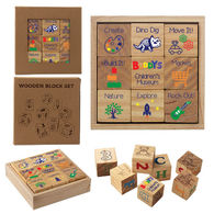 *NEW* Wooden Block Set