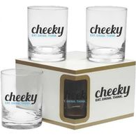 *NEW* Premium Set of 4 Double Old Fashioned Glasses