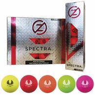 *NEW* Zero Friction® Spectra® Fluorescent Golf Balls