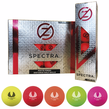 Zero Friction® Spectra® Fluorescent Golf Balls