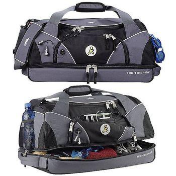 "24"" High Sierra&reg Crunk Cross Polycanvas and Nylon Sports Duffel Bag"