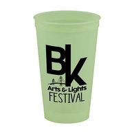 22 oz Glow in the Dark Stadium Cup