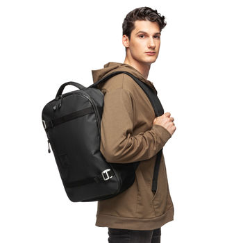 """Versatile Everyday or 1-2 Day Travel Water-Resistant Backpack with Paded Shoulder Strap Holds 15"""" Laptops (NFC Capable)"""