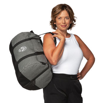 3-5 Day Travel Bag Easily Converts from Duffel to Backpack and Lays Flat With 2 Clothing Compartments (NFC Capable)