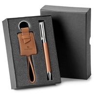 2-Piece Gift Set with Pen and Keyring/Charging Kit