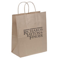 100% Recycled Paper Shopping Bag - 10