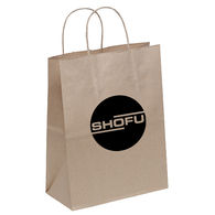 100% Recycled Paper Shopping Bag - 7.75