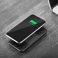 Universal Power Bank - 8000 mAh - Your Logo Glows and Pulses! - Charges Tablets and Phones