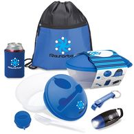 *NEW* Outdoors and Lovin' It Gift Set Includes Salad Bowl Kit, Can Cooler, Bottle Opener, Flashlight, and Drawstring Bag in a Semi-Custom Box