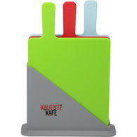 *NEW* 3 Piece Cutting Board Set with Holder