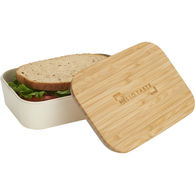 *NEW* Bamboo Fiber Lunch Box with Cutting Board Lid
