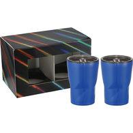*NEW* Keurig-Ready 12 oz Mini Vacuum Tumbler with Angular Contours Gift Set