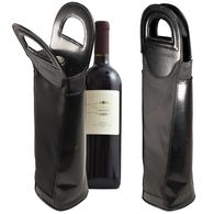 *NEW* Ballistic Nylon and Faux Leather Wine Tote