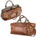"""19"""" Cutter & Buck&reg All Leather Weekender Duffel Bag"""