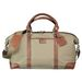 "19"" Cutter & Buck&reg Cotton and Leather Weekender Duffel Bag"