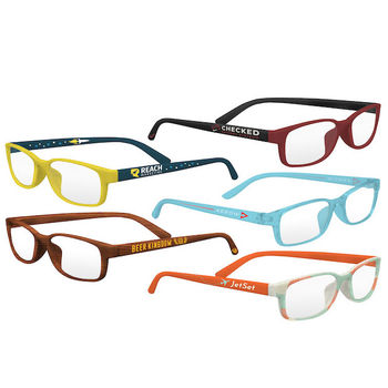 Pantone Color Matched Reading Glasses - 1.25X, 1.75X, or 2.25x Magnification